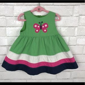 Gymboree Girl's Toddler Butterfly Dress.